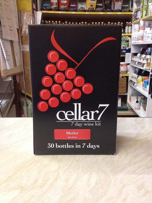 Cellar 7 Merlot 30 bottle kit