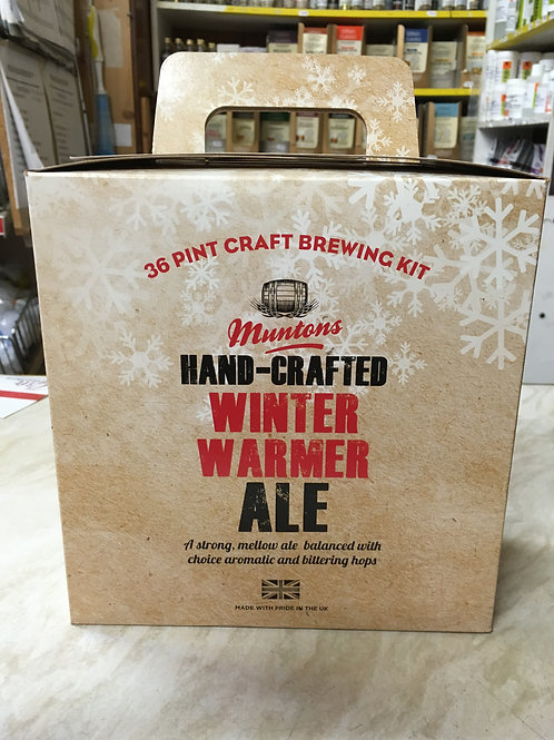 Hand-Crafted Winter Warmer Ale
