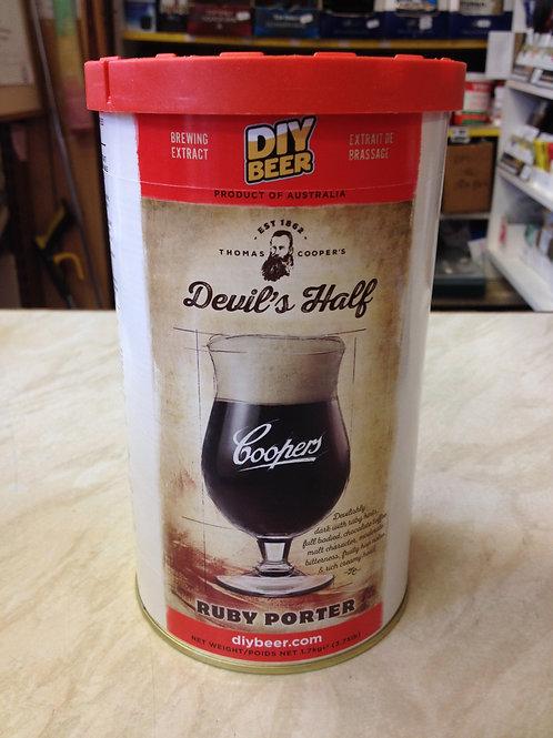 Coopers Devils Half Ruby Porter 1.7kg