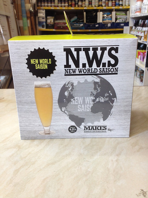 Young's New World Belgian Saison 4.0kg - N.W.S