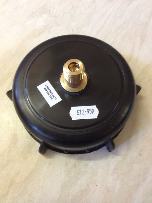 """King Keg 4""""Cap with STD CO2 Valve Inlet / Outlet"""