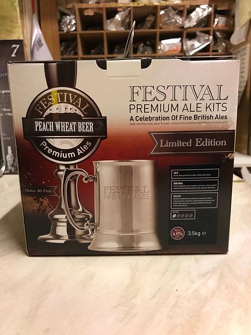 Festival Peach Wheat Beer