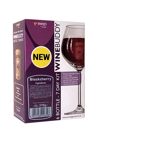 WineBuddy Fruit 6 Bottle Blackcherry
