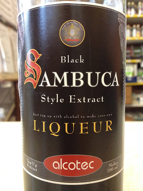 Alcotec Top Up Black Sambuca