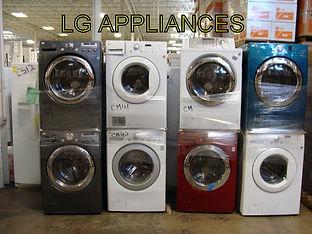 LG Appliance Truckload
