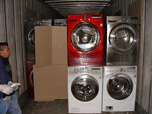 Loading LG Appliances Scratch and Dent Truckloads