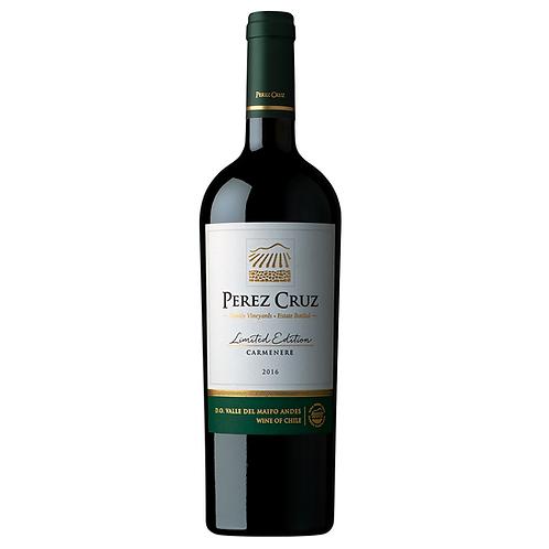 Perez Cruz Carmenere Limited Edition (1 und) Safra 2017