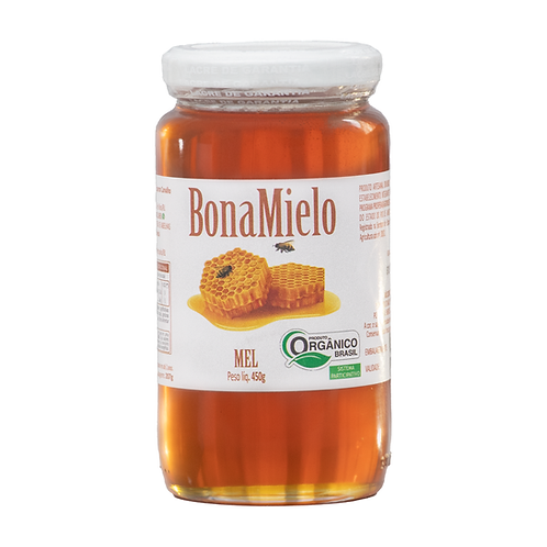 BonaMielo Mel Ôrganico - Florada predominante Silvestre (450g)