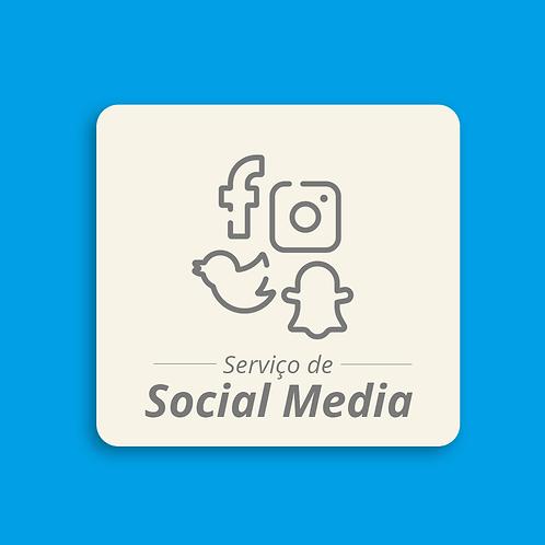 Serviço de Social Media