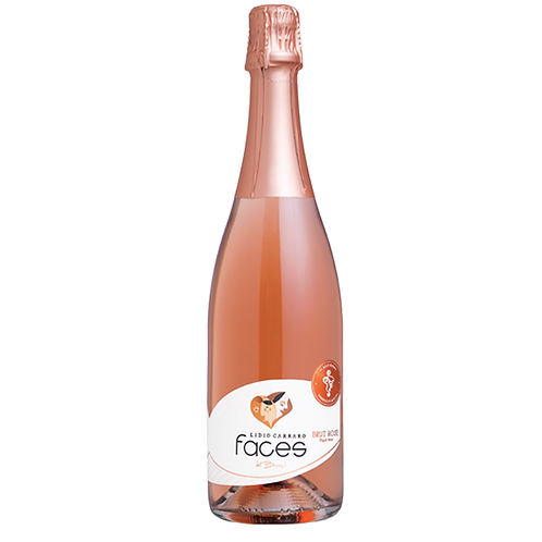 Lídio Carraro Espumante Faces do Brasil Pinot Noir Rosé (1 und)