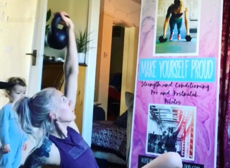 "Unpacking ""home workouts"" for the pregnant and postpartum athlete..."