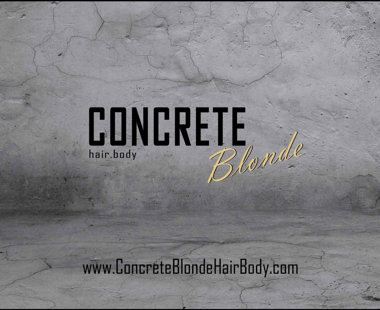 Concrete Blonde Hairdy Sherwood Park Fort Saskatchewan Ab
