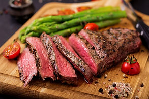 juicy-steak-rare-beef-with-spices-wooden