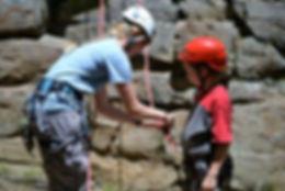 New River Gorge rock climbing