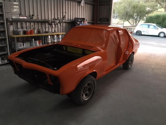 Loneranger Orange Applied