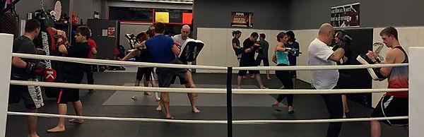 Kickboxing-Class-in-Keswick-Hitting-Pads