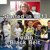 Tyler Laycock Youth Thai Jitsu Karate Bl