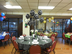 Room Rental New Years Eve Layout Round Tables
