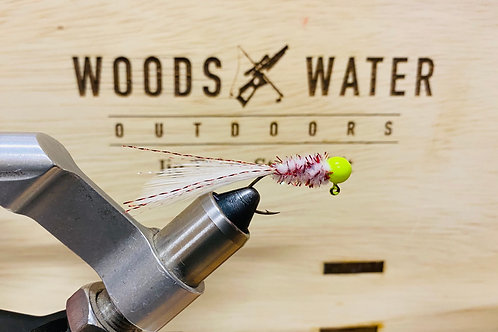 Bleeding Shad-Crappie Brothers Hand Tied Jigs 1/16oz