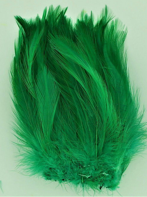 Kelly Green-Saddle Hackle