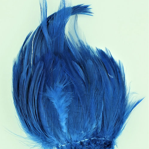 Mahi Blue-Custom Neck Hackle 4-6""
