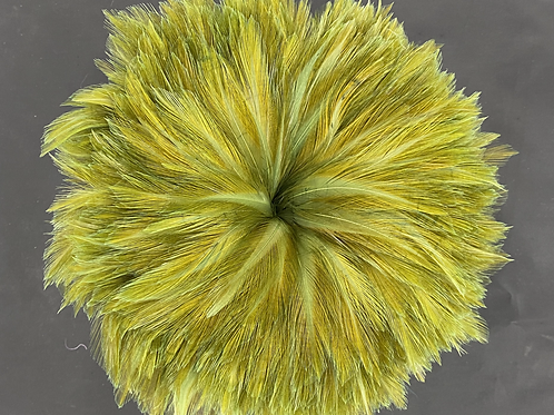 """2.1 Ounce Olive Neck Hackle 4-6"""""""