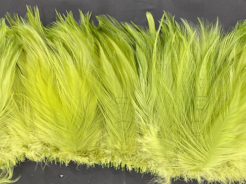 """Half Ounce Green Olive 5-7"""" Neck Hackle"""