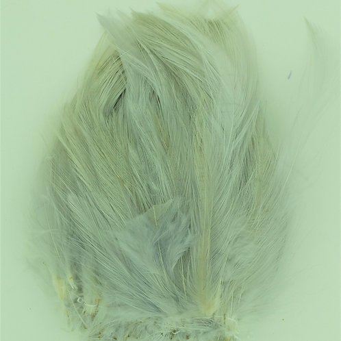 Ghost Gray-Saddle Hackle