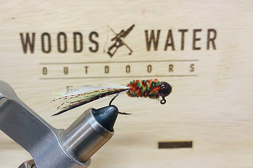 Fire Tiger-Crappie Brothers Hand Tied Jigs 1/16oz