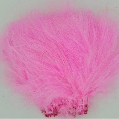 Fluorescent Pink-Custom Marabou