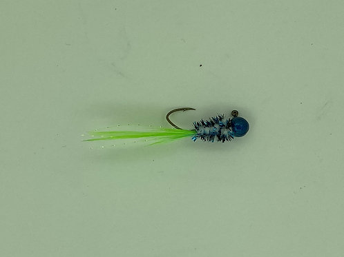 Blue Spec-Crappie Brothers Hand Tied Jigs 1/16oz