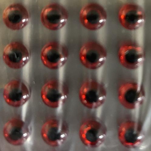 Prism Red 3D Eye