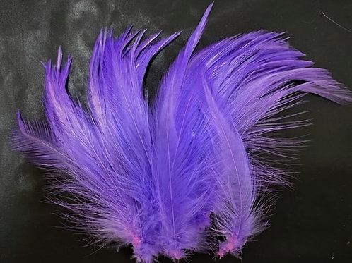 Winter Run Purple-Saddle Hackle