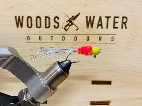 Hot Flash-Crappie Brothers Hand Tied Jigs 1/16oz