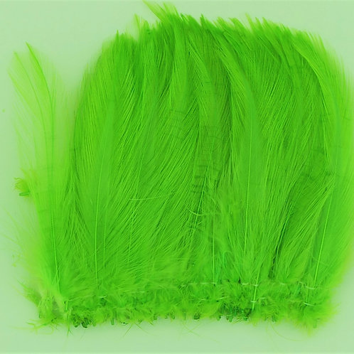 Fluorescent Green-Custom Neck Hackle 4-6""
