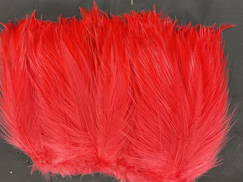 """Half Ounce Red 5-7"""" Neck Hackle"""