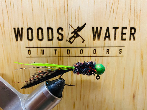 Black Jack-Crappie Brothers Hand Tied Jigs 1/16oz