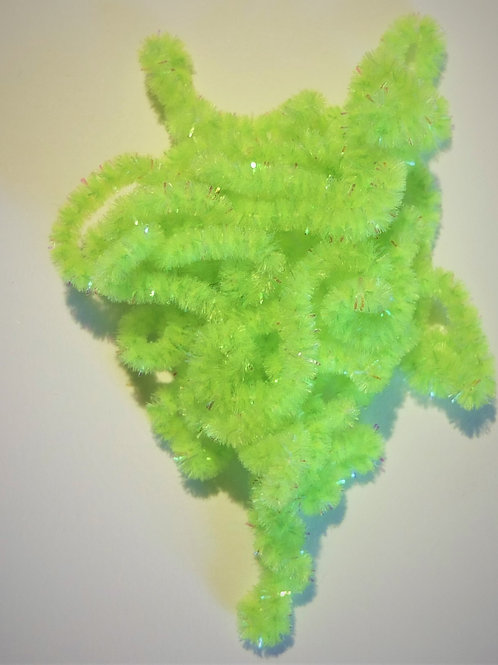Chartreuse Pearl-Custom Chenille