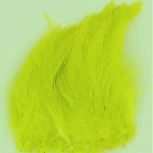 Green Chartreuse-Saddle Hackle