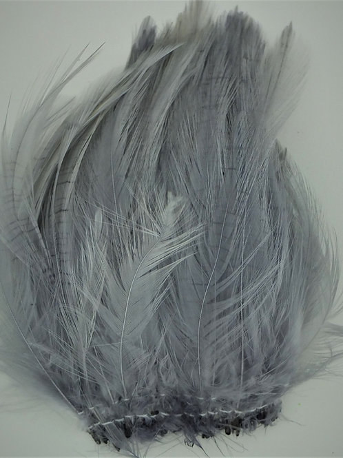 Silver Gray-Saddle Hackle