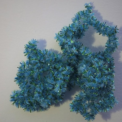 Blue Suede Shoes-Custom Chenille
