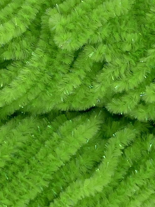 Chartreuse Pearl-Custom Chenille