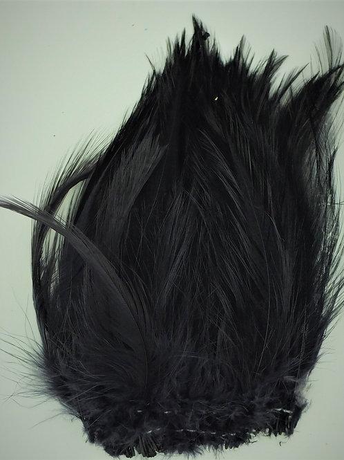 Black-Custom Saddle Hackle