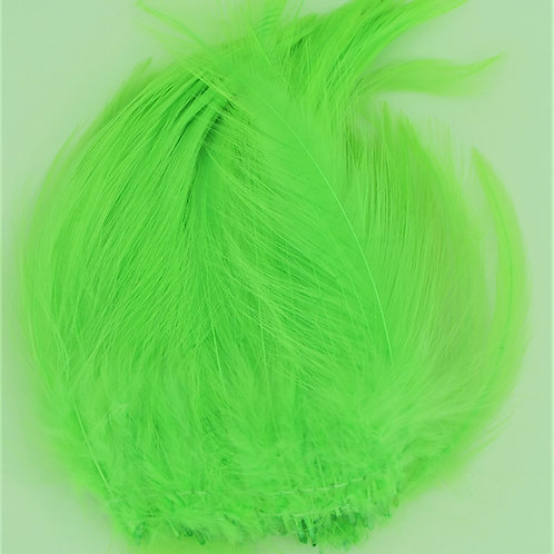 Lime Green-Custom Saddle Hackle