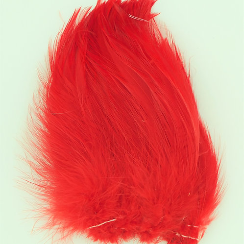 Red-Custom Saddle Hackle