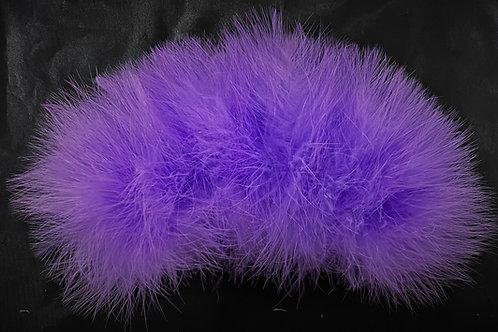 Winter Run Purple-Custom Marabou