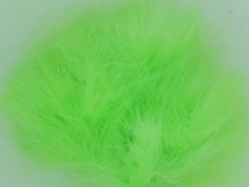 Lime Green-Custom Marabou
