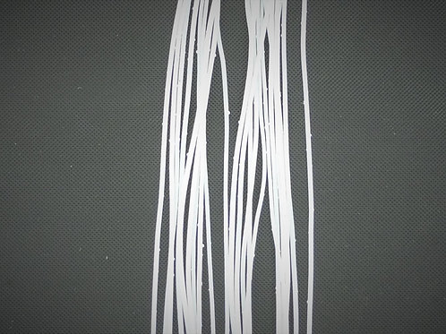 White Silver Flake-Crazy Legs