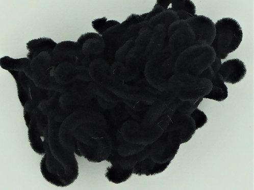 Black-Nylon Chenille