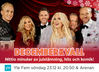 Decemberkväll on TV